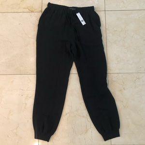 Theory NWT $190 100% Silk Arai Double GGT Pants